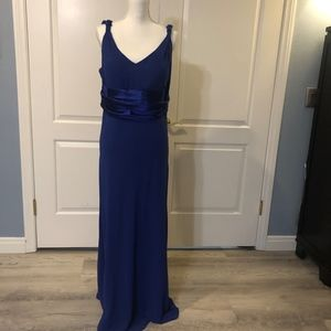 Dresses & Skirts - Formal prom or bridesmaid gown dk blue sz 16